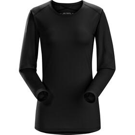 Arc'teryx Phase SL Langærmet T-shirt Damer sort
